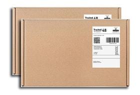 Pošiljka diskretno pakirana