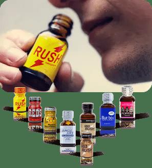 Poppers arome - Seznam poppers izdelkov